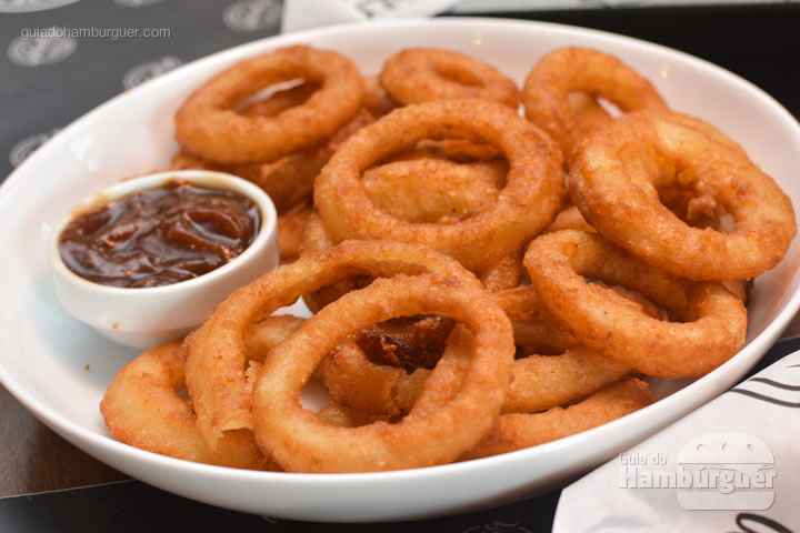 Porção de onion rings - Five Burger