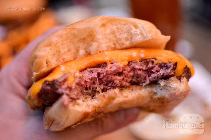 Ponto do cheeseburger - Jack Steak Itaim