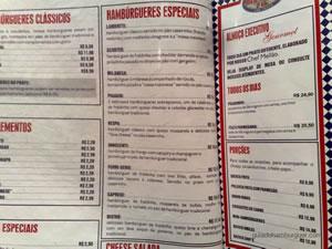 Cardápio - Mr Jack's ou Best Burger (Shopping Paulista)
