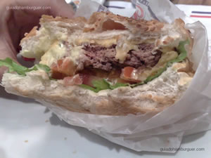 Cheese-salada - Mr Jack's ou Best Burger (Shopping Paulista)