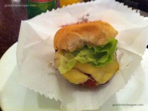 Cheese salada de 80g - Hamburgueria do Sujinho (Consolação)