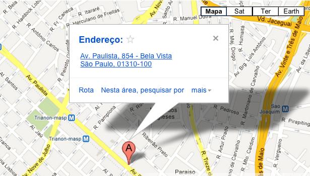 Mapa - Burger Lab