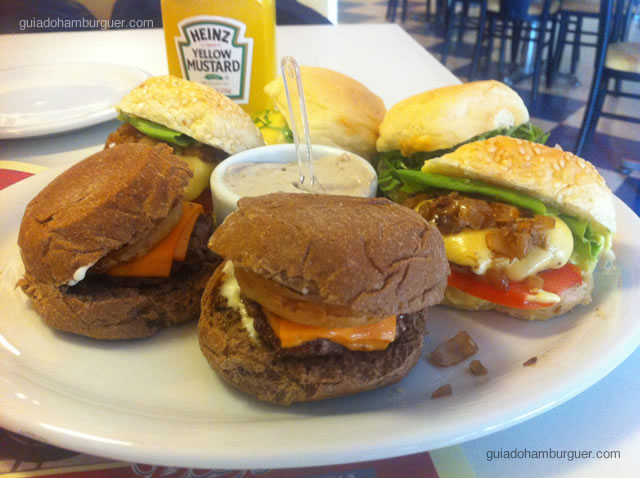 Mini hambúrgueres - Big Jack