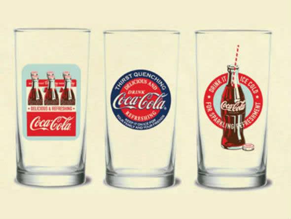 Promoção Coca-Cola - The Fifties