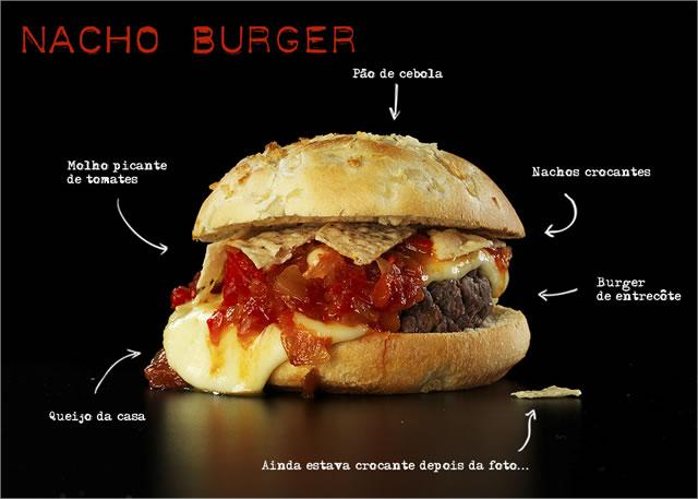 Nacho Burger - Vapor Burger & Beer