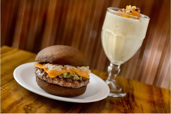 Milk Shake de Macadâmia com Damasco: harmoniza com Prime Javali - General Prime Burger