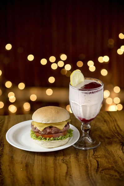 Milk Shake de Framboesa com Limão Siciliano: harmoniza com Calabresa - General Prime Burger
