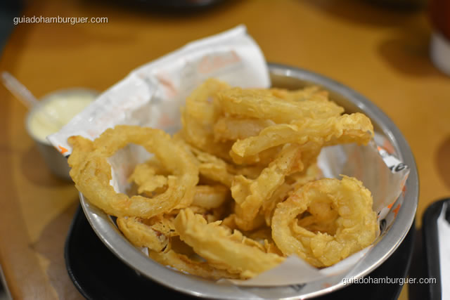 Onion Rings finas e crocantes - Burger Lab Experience