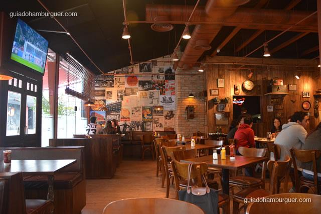 Detalhes da decoração - Buddies Burger & Beer