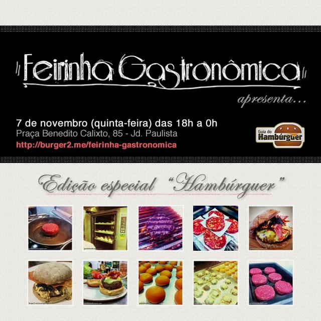 Feirinha Gastronômica - Hambúrguer