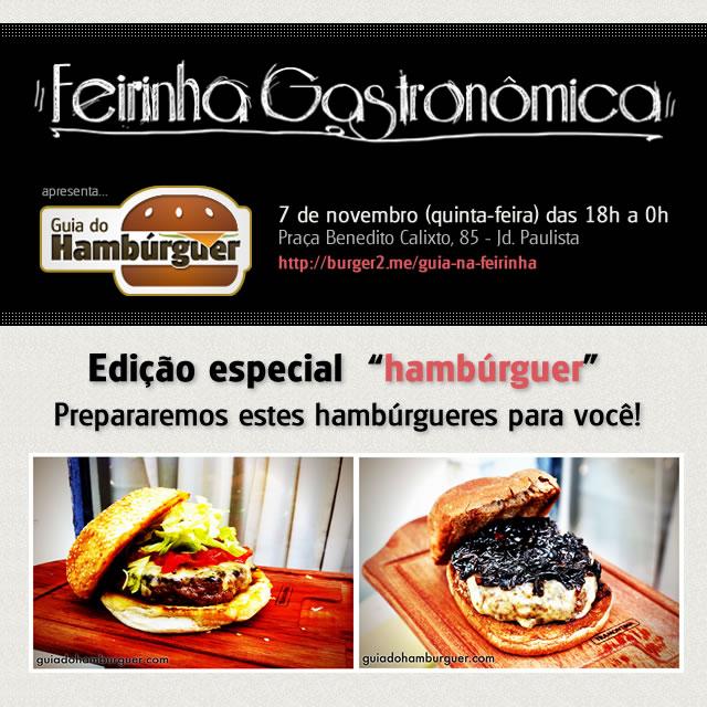 Banner - Guia do Hambúrguer na Feirinha Gastronômica