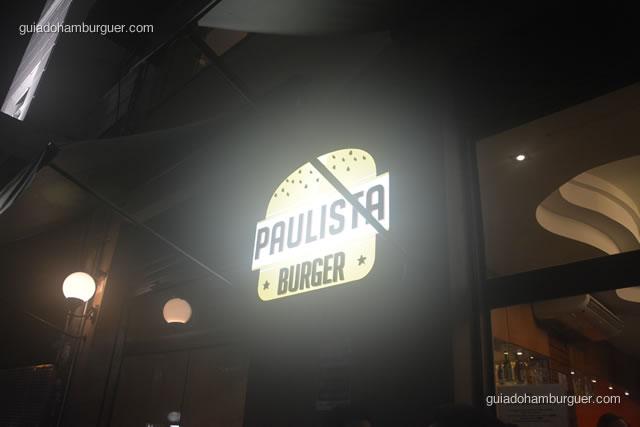 Luminoso da fachada - Paulista Burger