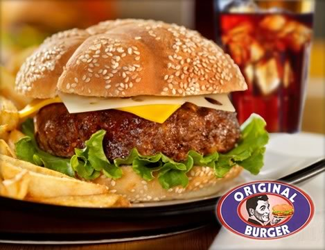 Cupom de desconto para o Original Burger