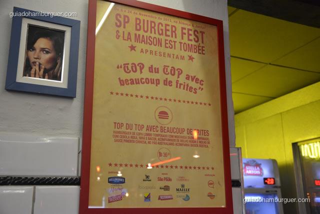 TOP du TOP, hambúrguer do SP Burger Fest 3ª edição - La Maison Est Tombeé