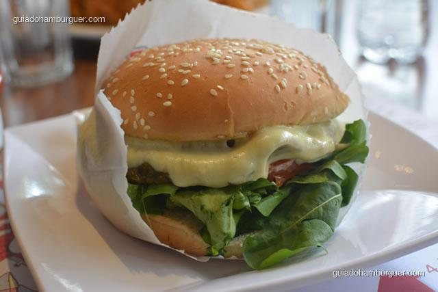 X Vegertariano Burguer - Big X Picanha