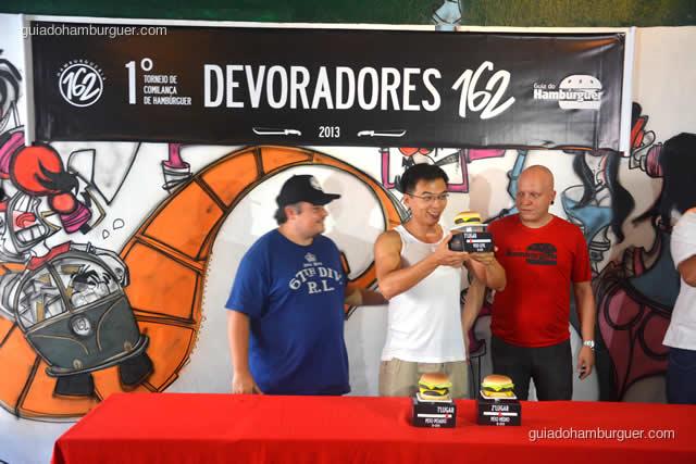 3º lugar ficou com o Alex Wai - Torneio Devoradores 162