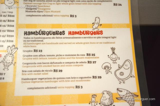 Seção de hambúrgueres com 5 receitas - Dona Maricota