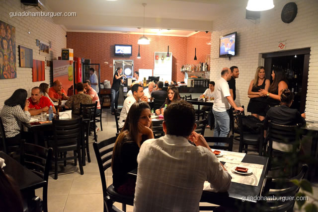 Ambiente do restaurante logo que entramos - Mistura Mattarazzo