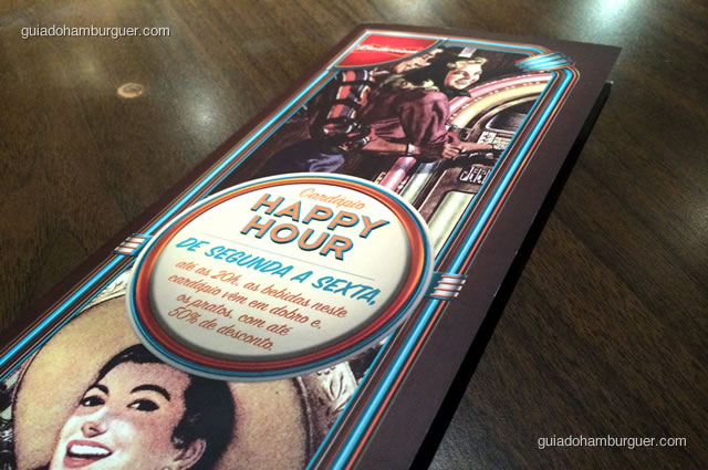 Cardápio de Happy Hour - Mustang Sally