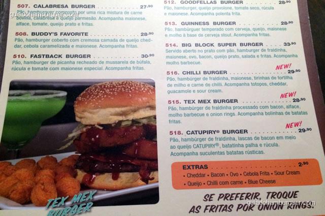 Os extras para completar seu hambúrguer - Mustang Sally