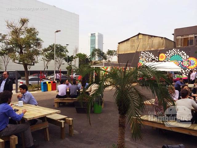 Espaço para as barracas - Butantan Food Park