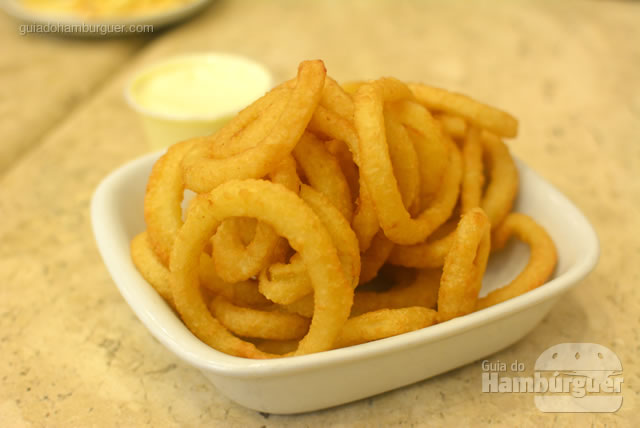 Porção de onion rings - Osnir Hamburger