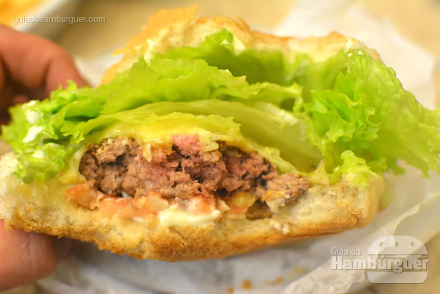 Ponto da carne, rosadinho - Osnir Hamburger