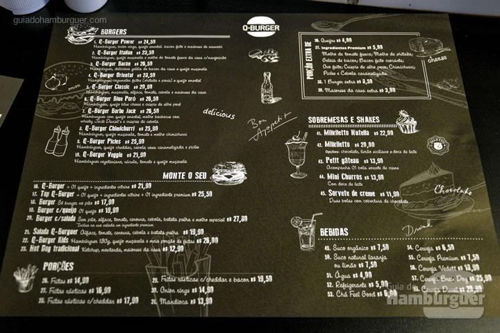 Cardápio - Q-Burger