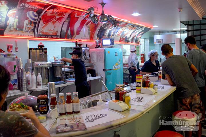 Balcão - Mito Burger