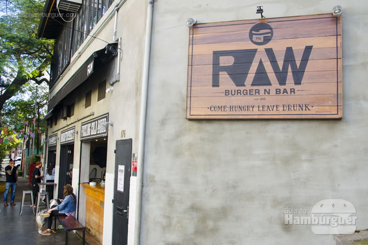 Fachada - Raw Burger'n'Bar