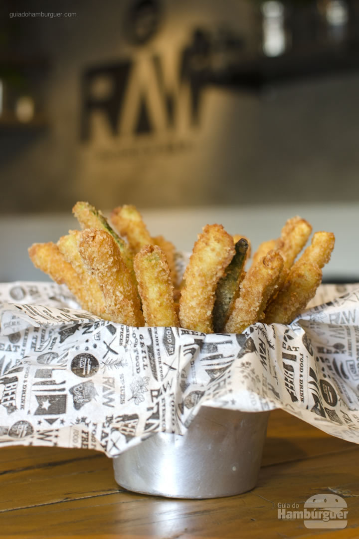 Zucchini Fries - Raw Burger'n'Bar