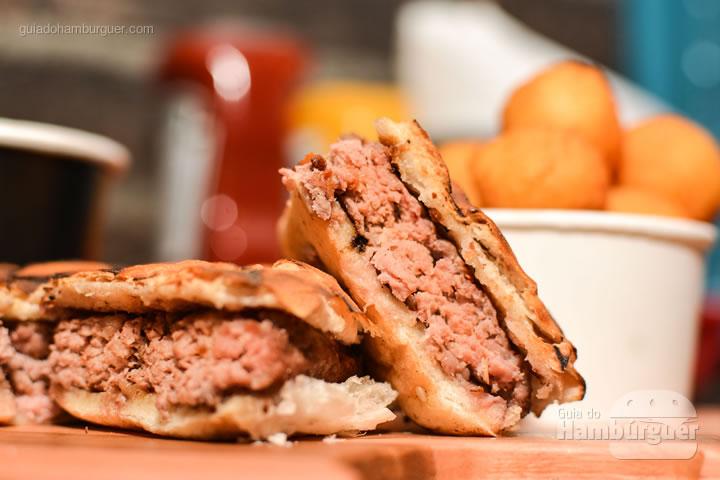 Fondue de hambúrguer - Stunt Burger