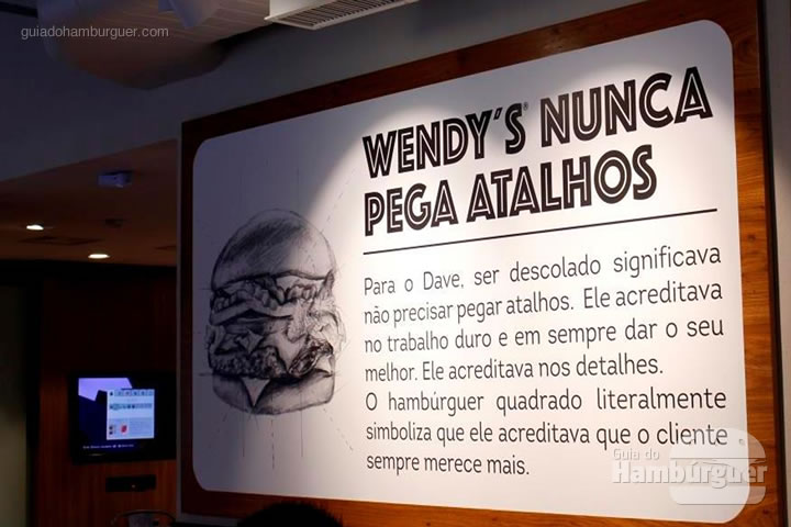 Wendy's nunca pega atalhos - Wendy's por Lelê Gianetti do blog It Yourself