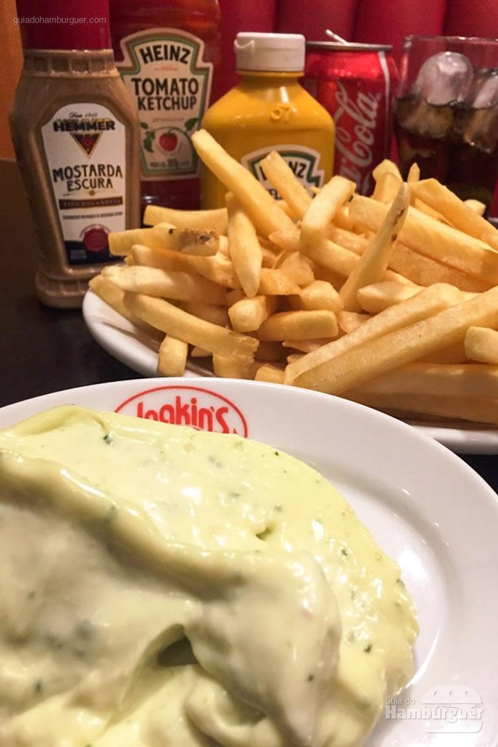 Fritas e maionese kins - Joakin's
