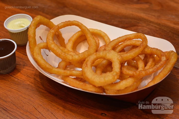 Onion Rings - Red Nose Burger & Hot Dog