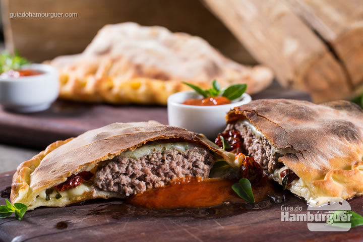 Calzone Burger do Silo - UOL Burger Fest
