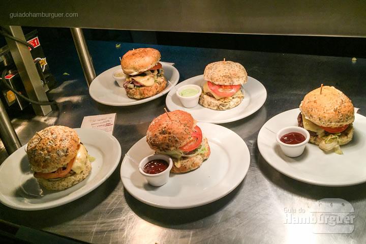 Hambúrgueres dos clientes - Soul Gourmet