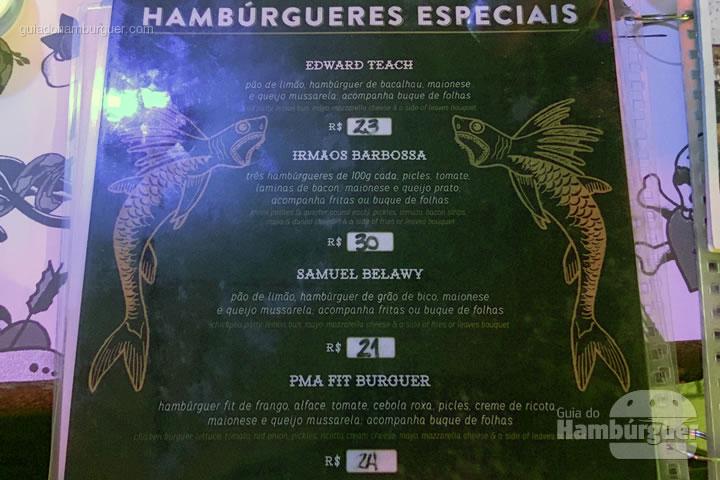 Hambúrgueres Especiais - O Barba Hamburgueria