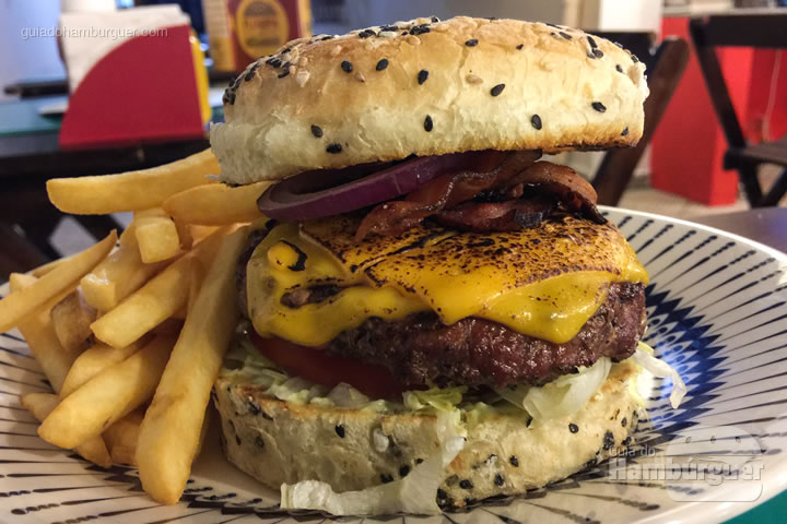 Hambúrguer - Vitrola Burger