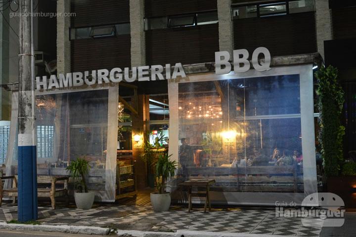 Fachada - Hamburgueria BBQ