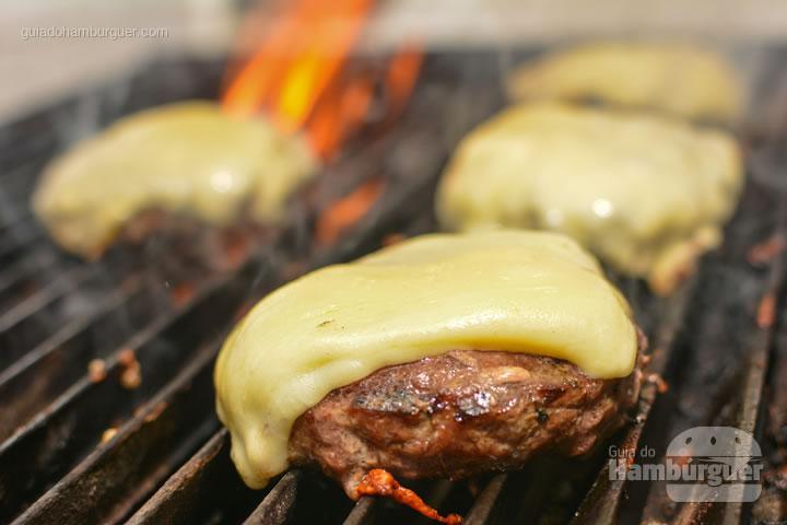 Queijo derretido - All Bros Burger