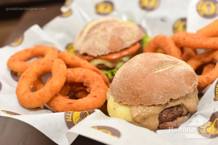 Combo cm onion rings - All Bros Burger