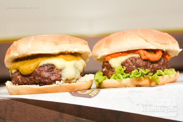Olha essa duplinha - All Bros Burger