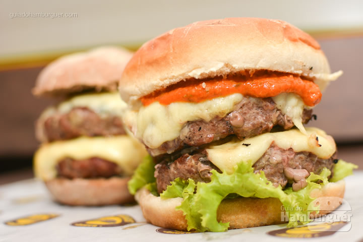 Burgers duplos - All Bros Burger