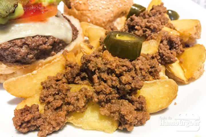 Batata com chilli - Cidadão do Mundo Burger & Arts