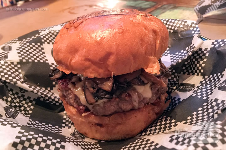 Mushroom Burger - Original Co.