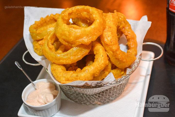 Onion Rings - Paulista Burger em São José dos Campos