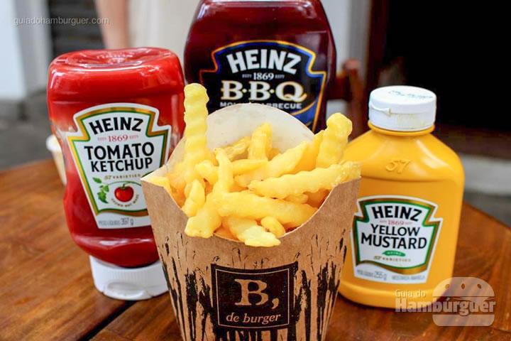 B, de batata - B, de Burger por Lelê Gianetti