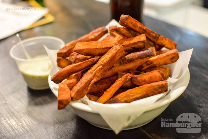 Batatas doce - Smoked Burger