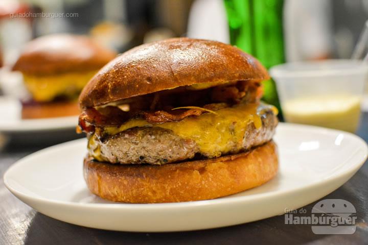 Cheese bacon - Smoked Burger